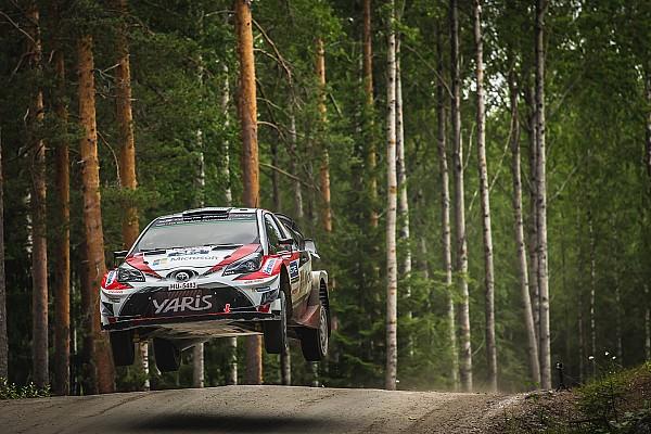 WRC Finland: Lappi voert Finse top-drie aan