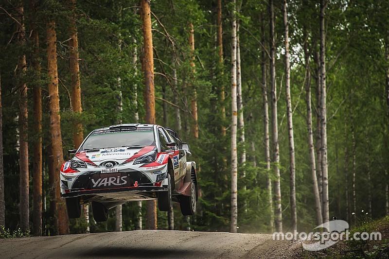 【WRC】フィンランド2日目:トヨタの新人ラッピが首位浮上!