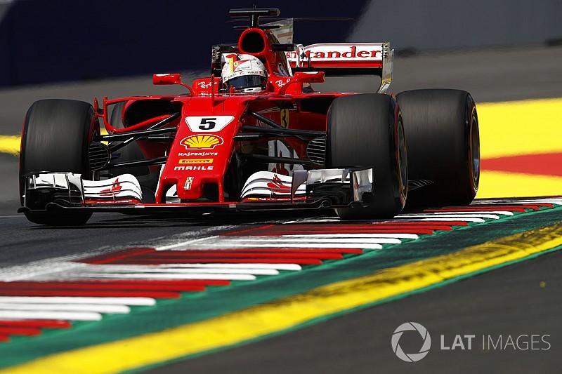 【F1オーストリアGP】FP3速報:ベッテルがトップタイム。ハミルトン2番手