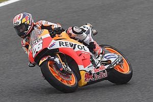 MotoGP Practice report Jerez MotoGP: Pedrosa leads Honda trio, Vinales crashes in FP2
