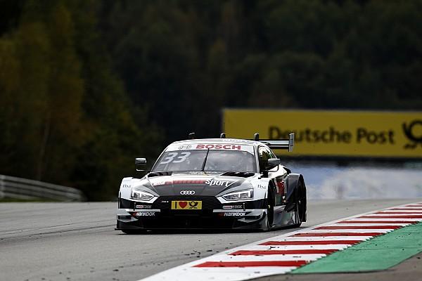 Rene Rast se encuentra la victoria en Spielberg en otro triplete de Audi