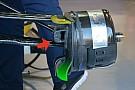 Технічний брифінг: повітропровід переднього гальма й днище Sauber