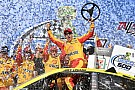Joey Logano holds back Kurt Busch to win at Talladega
