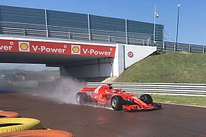 Formula 1 Ultime notizie F1 test Pirelli: per Giovinazzi 124 giri sulla Ferrari con le intermedie