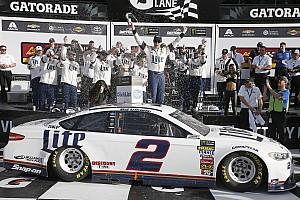 NASCAR Cup Отчет о гонке Кеселовски выиграл внезачетную гонку NASCAR в Дайтоне