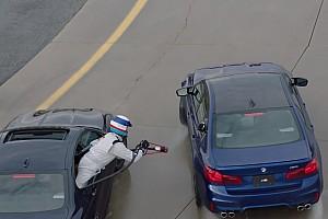 Auto Actualités Vidéo - Un plein d'essence en pleine séance de drift chez BMW!