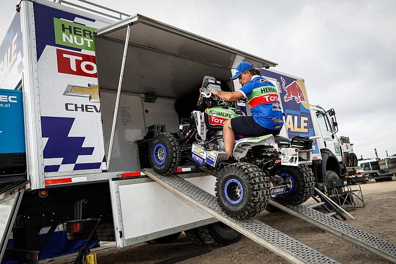 Ignacio Casele al frente en los quads en el Dakar 2018