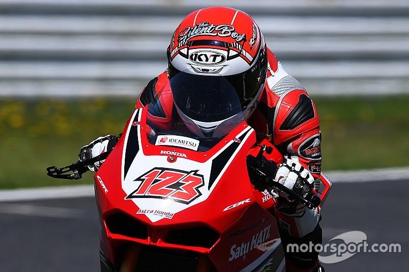 ARRC Jepang: Rheza dominan, Mario SA podium