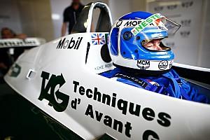 Rosberg tuvo difícil convencer a su padre para la exhibición de Mónaco