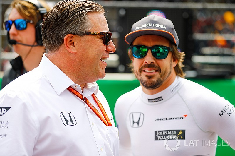 """Alonso: Brown """"fait de grandes choses pour le sport"""""""