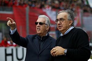 Formule 1 Actualités Marchionne maintient la menace d'un départ de Ferrari