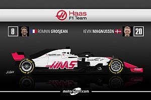 Formule 1 Preview Guide F1 2018 - Un Haas dans la manche?