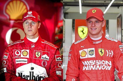 GALERÍA: Comparativa los Schumacher en Bahréin
