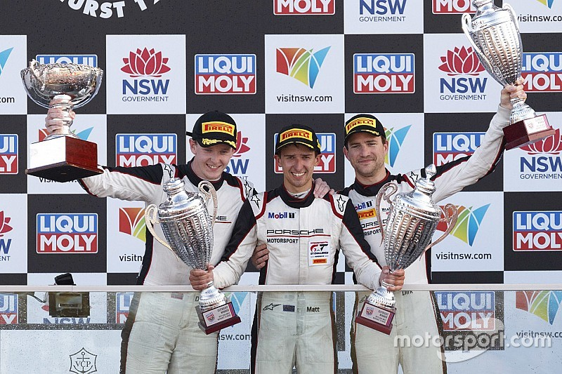 Bathurst 12 Hour: Campbell seals thrilling victory for Porsche