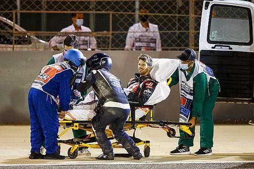 """Kvyat: """"Was eerst nog boos op Grosjean, maar schrok daarna enorm"""""""