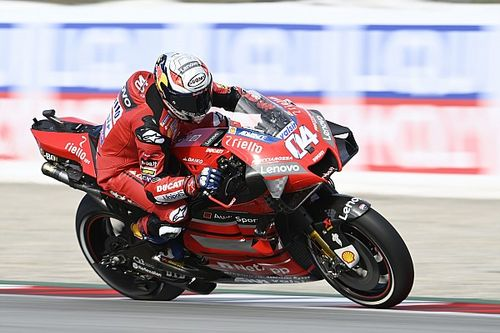 "Dovizioso says brake issues ""very frustrating"""