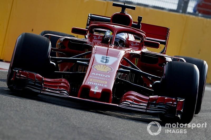 FP3 GP Singapura: Vettel tercepat, Ferrari pimpin Mercedes