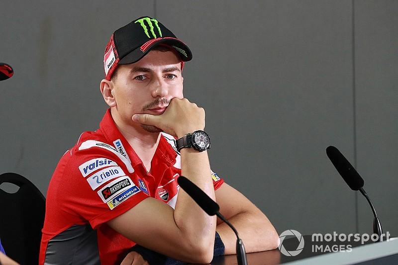 Лоренсо відмовився від гонки на Сепанзі