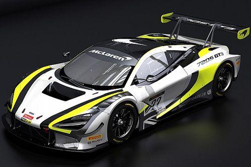 バトンのGTチーム、使用マシンをNSXからマクラーレン720S GT3に変更