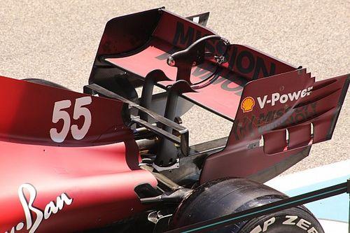 Ferrari: ecco l'ala posteriore da alto carico