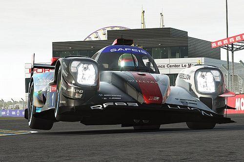 A Rebellion-Williams 1-es autója nyert a virtuális Le Mans-i 24 óráson a ByKolles előtt