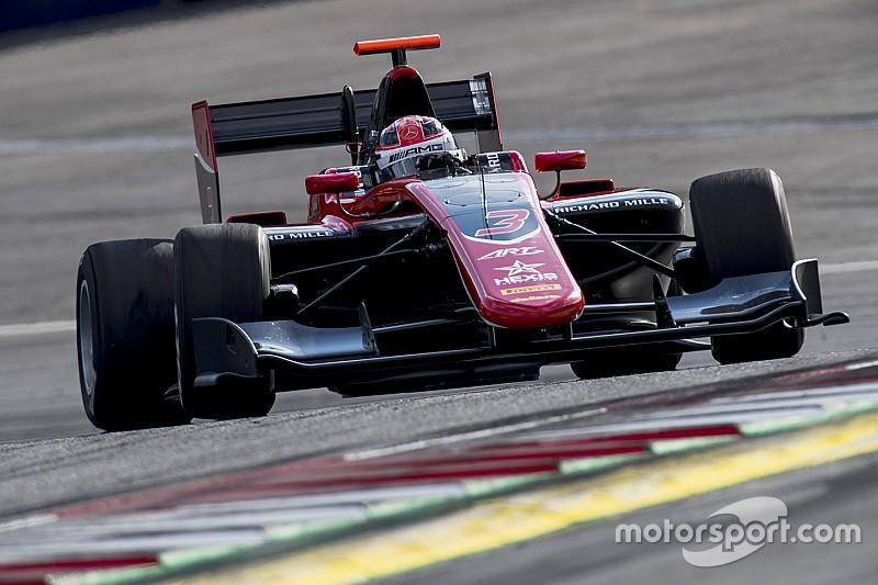 Pole de Russell en la GP3 Series