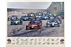 IndyCar Breaking news Auction of special prints to aid Wilson Children's Fund
