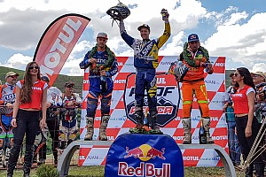 Enduro Stage report Jarvis secures fourth title in 2016 Motul Roof of Africa