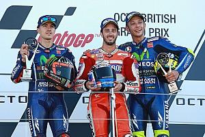 MotoGP Race report Silverstone MotoGP: Dovizioso wins, Marquez suffers failure