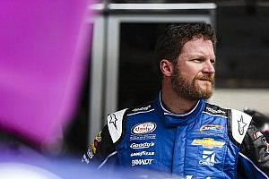 NASCAR XFINITY Breaking news Dale Earnhardt Jr. treated for dehydration after Bristol Xfinity race