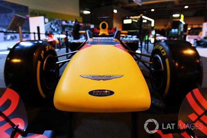 Aston Martin стал титульным спонсором Red Bull