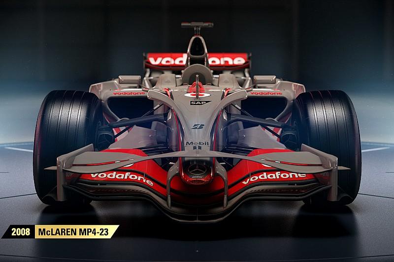 Afbeeldingsresultaat voor classic cars f1 2018