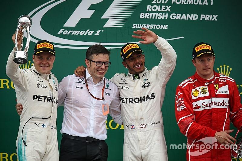GP Inggris: Hamilton dominan, Ferrari alami drama ban