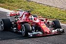 Vettel vezet a Mercedes előtt Barcelonában, órákra kidőlt a Red Bull és a McLaren-Honda