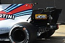 Formula 1 Williams: doppio spoiler in fondo alla pinna della FW40