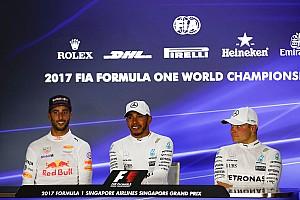 Formula 1 Press conference Singapore GP: Post-race press conference