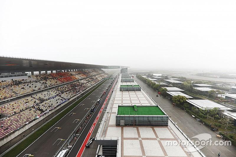 【F1】中国GP決勝は土曜開催の可能性が浮上。日曜の悪天候を懸念