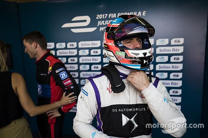 Décision après les essais libres pour López
