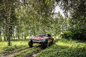 Cross-Country Rally Stage report Silk Way Rally: Loeb and Viazovich on the charge