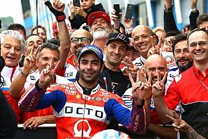 """MotoGP Noticias de última hora Petrucci: """"Era más rápido que Rossi, pero me molestaron los doblados"""""""