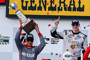 IndyCar Breaking news Power and Dixon satisfied but admit Newgarden was unbeatable