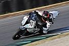 Fabrizio al Mugello con una BMW S1000: