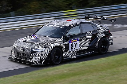 Debutto in pista da applausi per l'Audi RS 3 LMS TCR