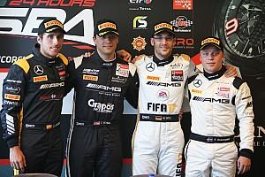 BES News 24h Spa: HTP-Mercedes verliert und erbt die Pole-Position