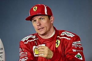 Räikkönen és a nap poénja: és még csak meg sem szólalt!