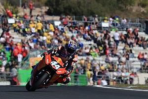 Moto2 レースレポート Moto2バレンシア決勝:オリベイラ3連勝で来季に手応え。中上は7位