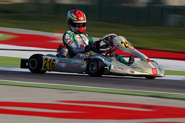 Kart David Vidales acaba el año con el tercer puesto de la WSK Final Cup