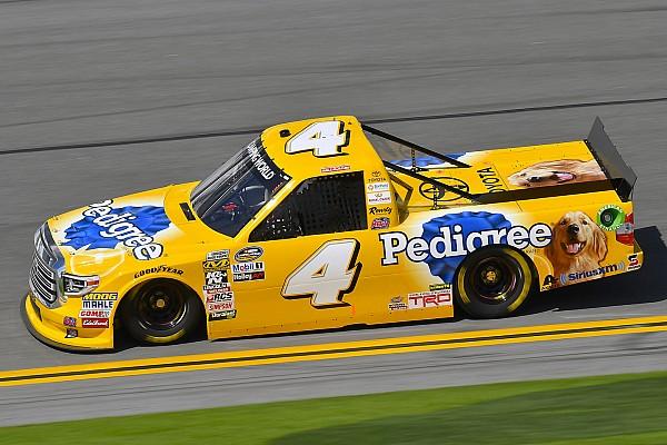 NASCAR Truck Qualifying report David Gilliland takes pole position for NASCAR Truck opener at Daytona