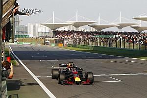 Formule 1 Raceverslag Ricciardo boekt sensationele zege in China, Verstappen vijfde na straf