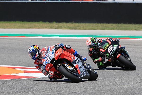 """MotoGP Dovizioso: Austin megerősítette, hogy a Ducati gyenge pontjai """"túlságosan dominálnak"""""""